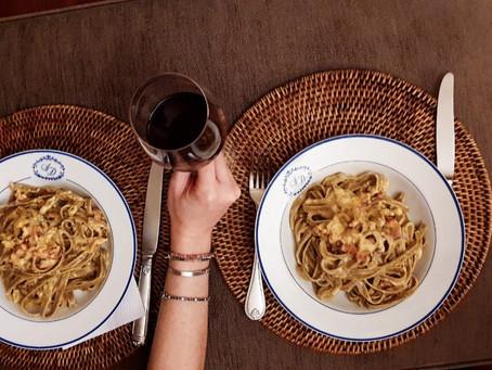Espagueti à Carbonara por Daniel Freire