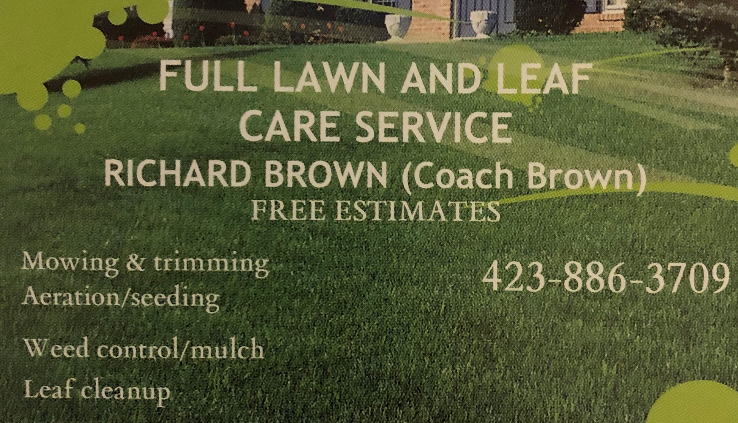 Full Lawn & Leaf Care Service