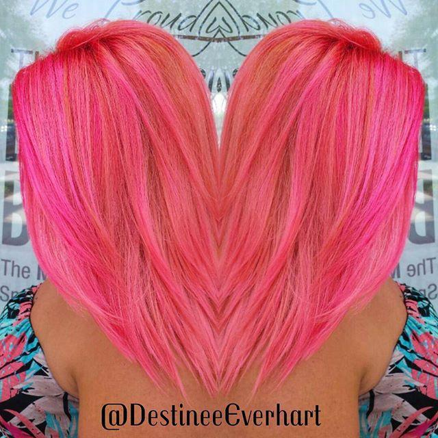 Tropicana 🍊🍍🍑🍉 I used #kenracolorcreative pink, orange, yellow, and white to create a custom #la