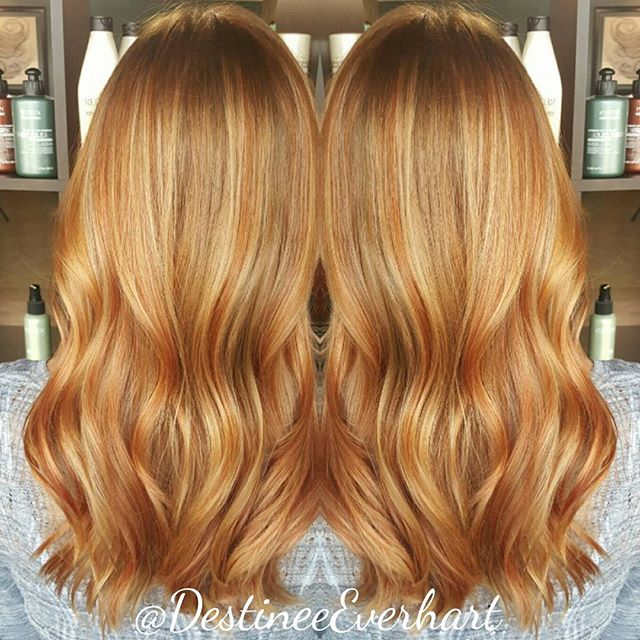 Fall lowlights using ICOLOR 7RR+6CC equal parts and 6GC #modernsalon #nofilter #fallhair #hiliteshai