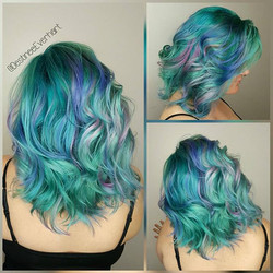 》AQUATIC UNICORN《_°_°_°#hamptonroadshairstylist #hamptonroadsstylist #757hair #757hairstylist #757 #