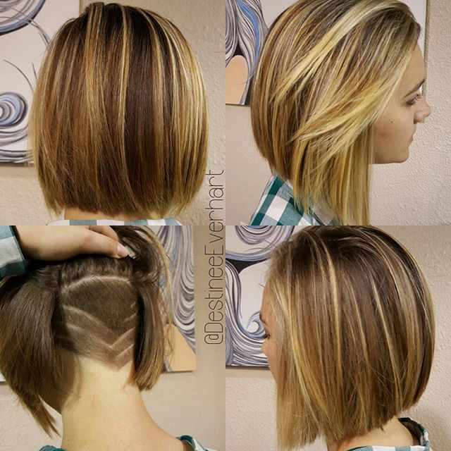 Undercut Action⏬✂♥_°_°_°#americansalon #undercut #girlswithundercuts #757stylist #chesapeakesalons #