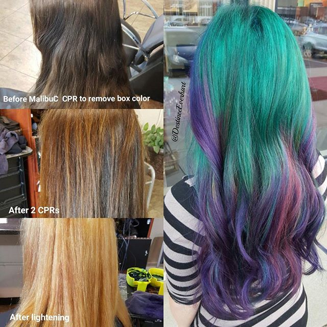 7 Hour process! This girl understood and accepted the challenge of going VIVID