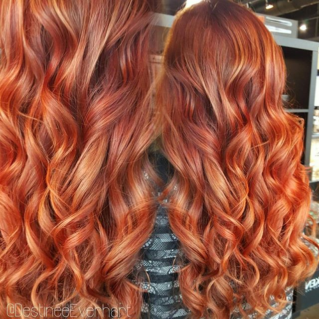 Using new _Joico color intensities Fiery Coral and Black Pearl °_°_°#chesapeakesalons #modernsalon #