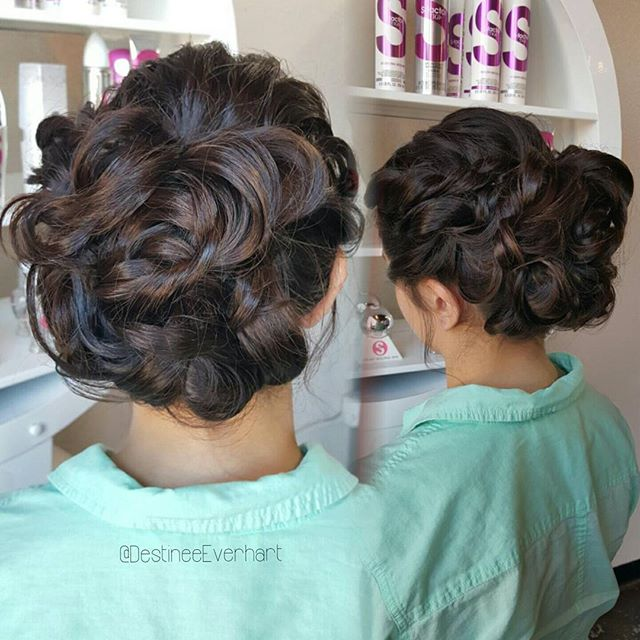 Some Saturday updo action!_°_°_° #chesapeakesalons #modernsalon #americansalon #beautylaunchpad #upd