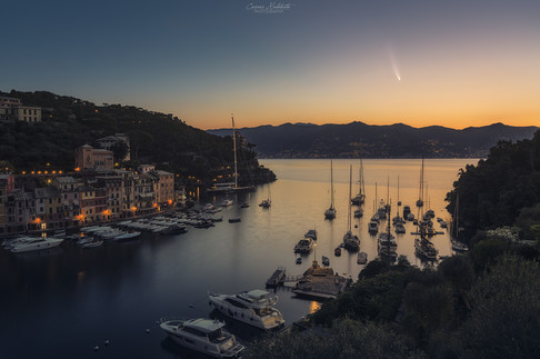 Neowise on Portofino