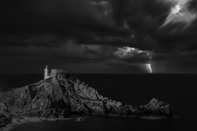 Portovenere under the storm