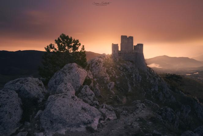 Alba su Rocca Calascio