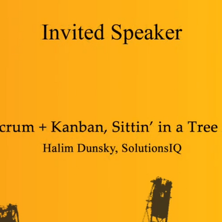 Scrum + Kanban Sittin' in a Tree