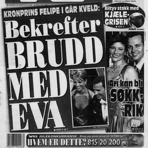 Forside 15 des 2001 Felipe bekrefter bru