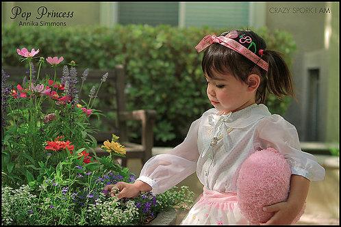 Pop Princess Sweet Cakes Factory Toddler Skirt
