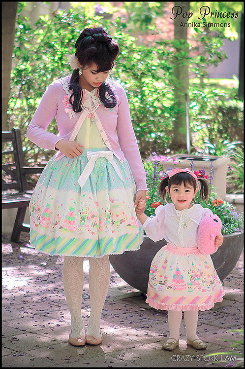 Mother and Daughter Sweet Lolita Coords