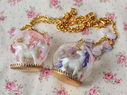 Kawaii Unicorn and Pegasus