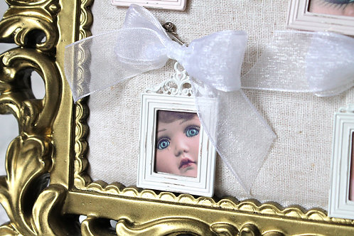 Creepy Cute Doll Face Brooch