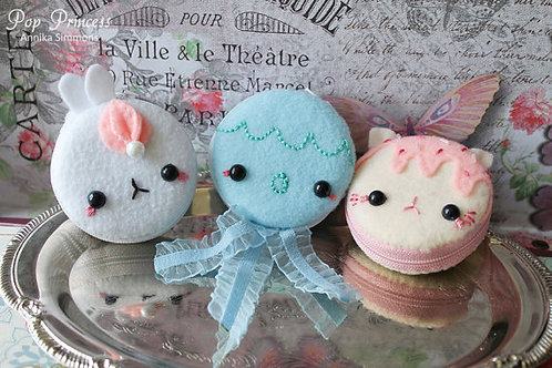 Cute Kawaii Macaroon Coin Purse
