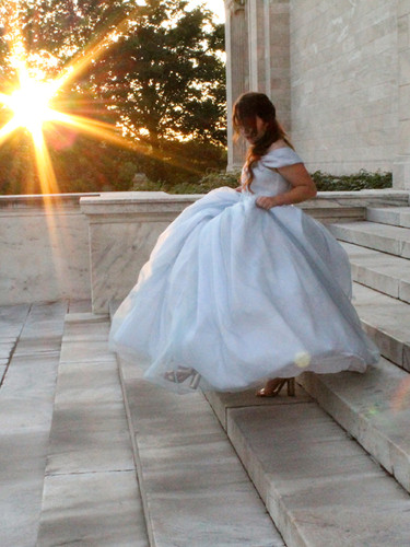 Fiber Optic Wedding Gown