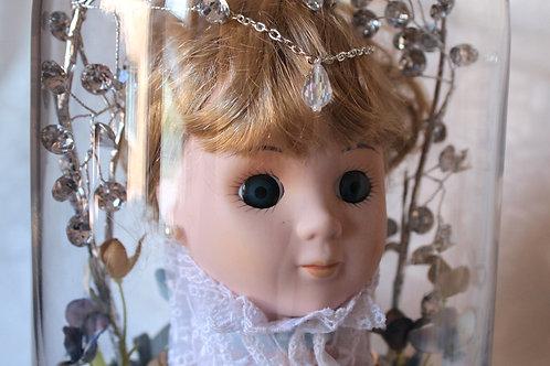 Creepy Cute Princess Doll Head