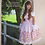 Pop Princess BRIGHT STAR Pink JSK