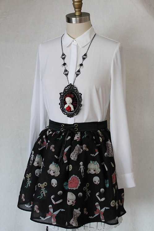 Doll Maker Corset Mini Skirt