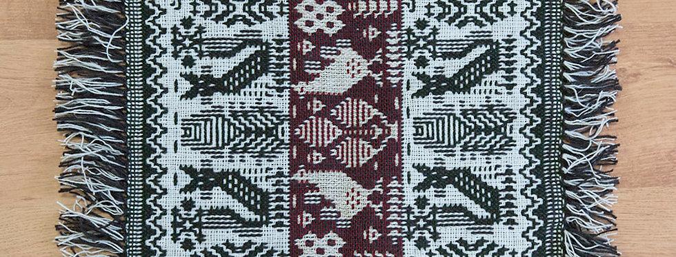 makatka dekoracyjna - technika dwuosnowowa
