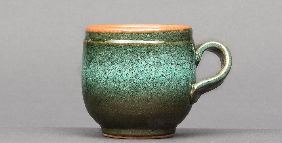 kubek z krzywym uszkiem ceramiczny