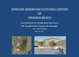 Dr. Amelia Ross-Hammond briefing to Virginia Beach City Council