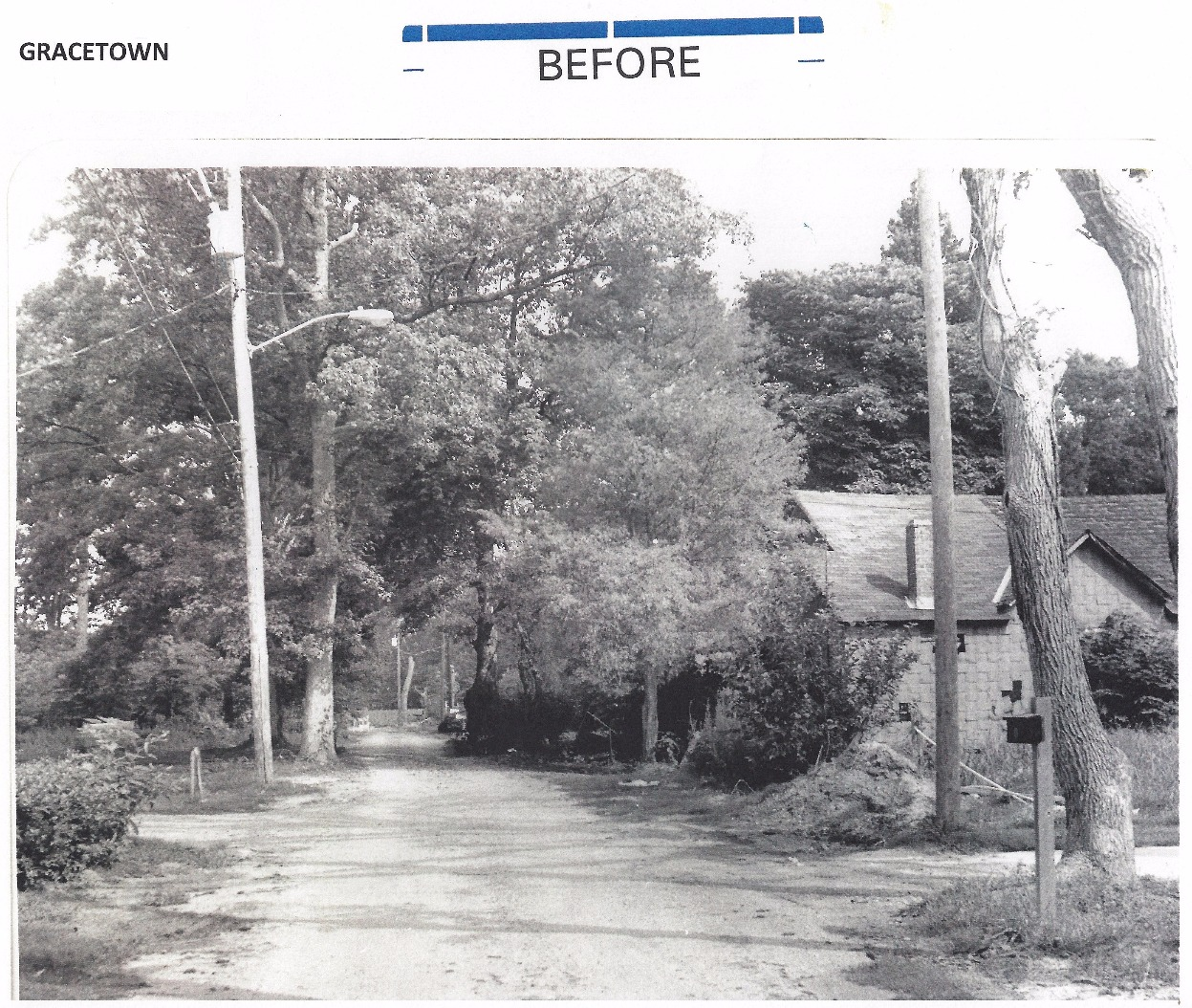 Gracetown - before
