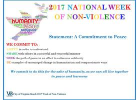 National Week of Peace