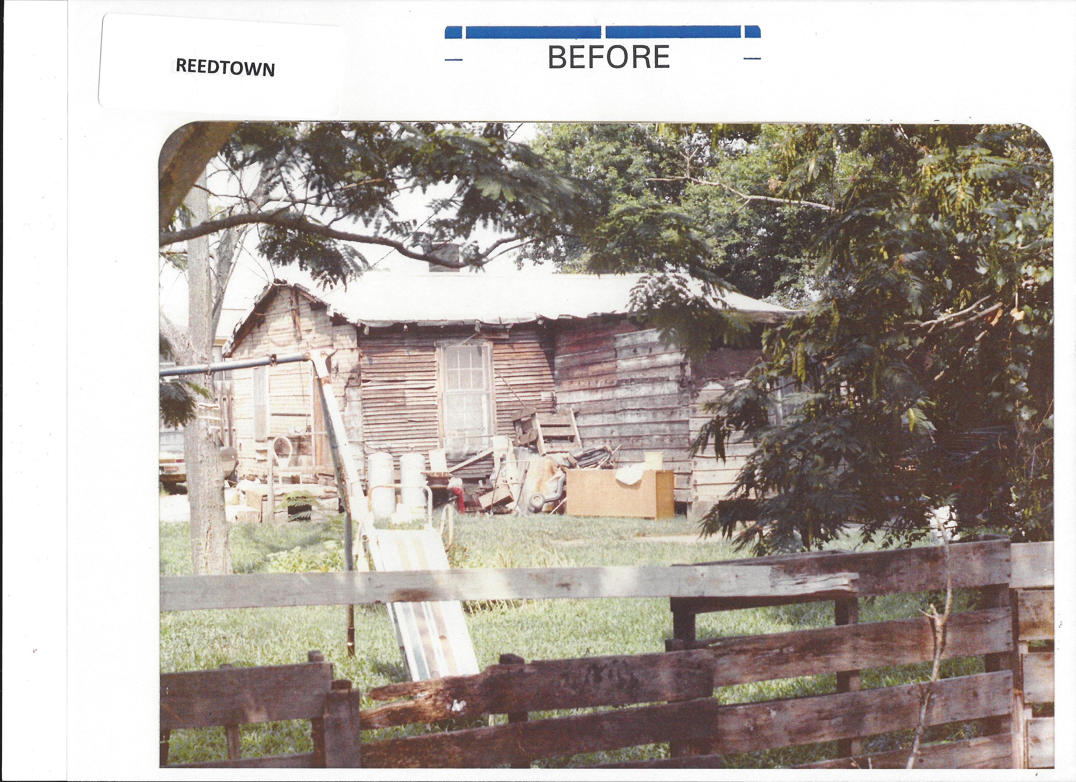 Reedtown - before