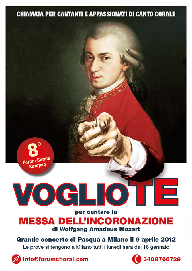 8° FORUM CORALE EUROPEO ALL'INSEGNA DI MOZART