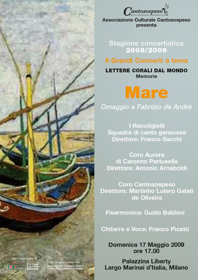 MARE (omaggio a Fabrizio De André)