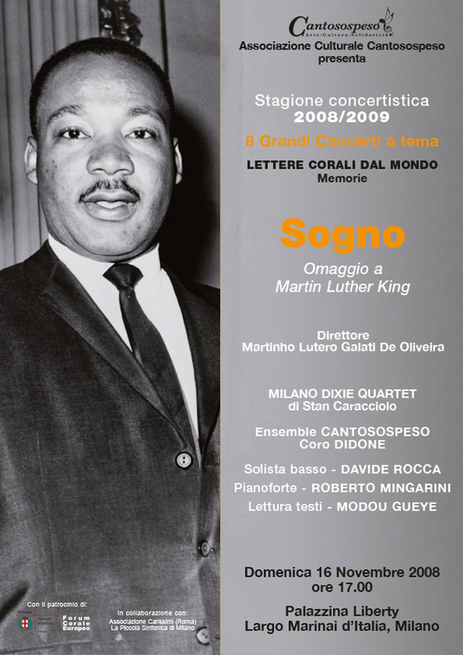 SOGNO (omaggio a Martin Luther King)