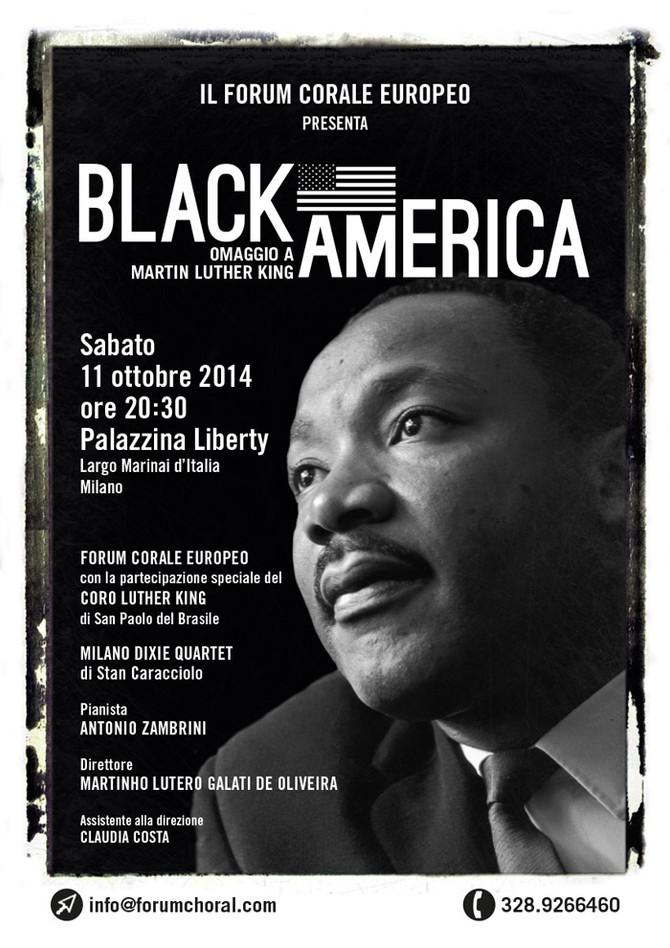 """IL FORUM CORALE PRESENTA """"BLACK AMERICA"""""""