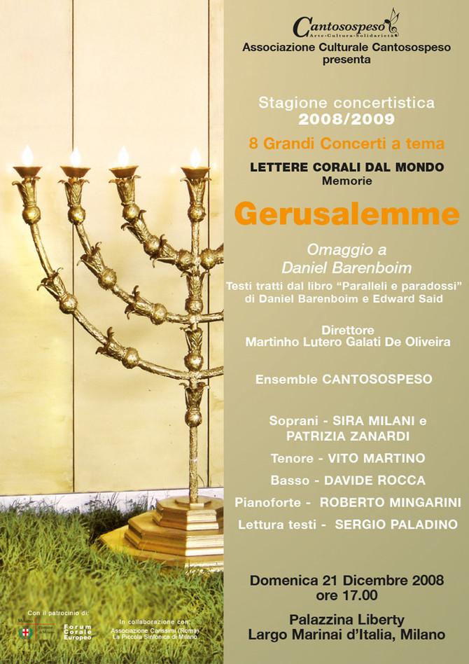 GERUSALEMME (omaggio a Daniel Barenboim)