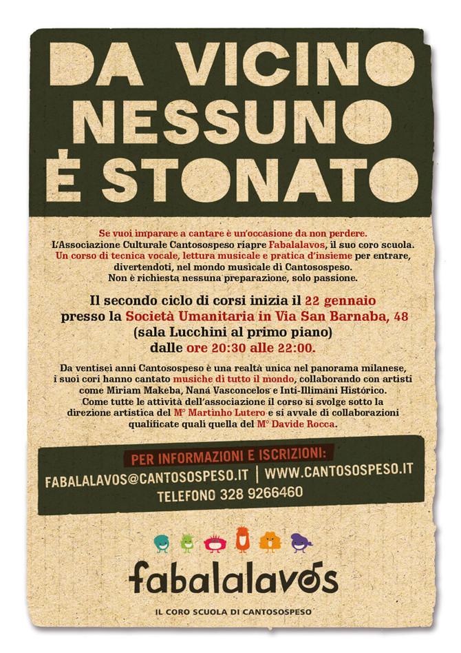 FABALALAVOS 2014: DA VICINO NESSUNO È STONATO