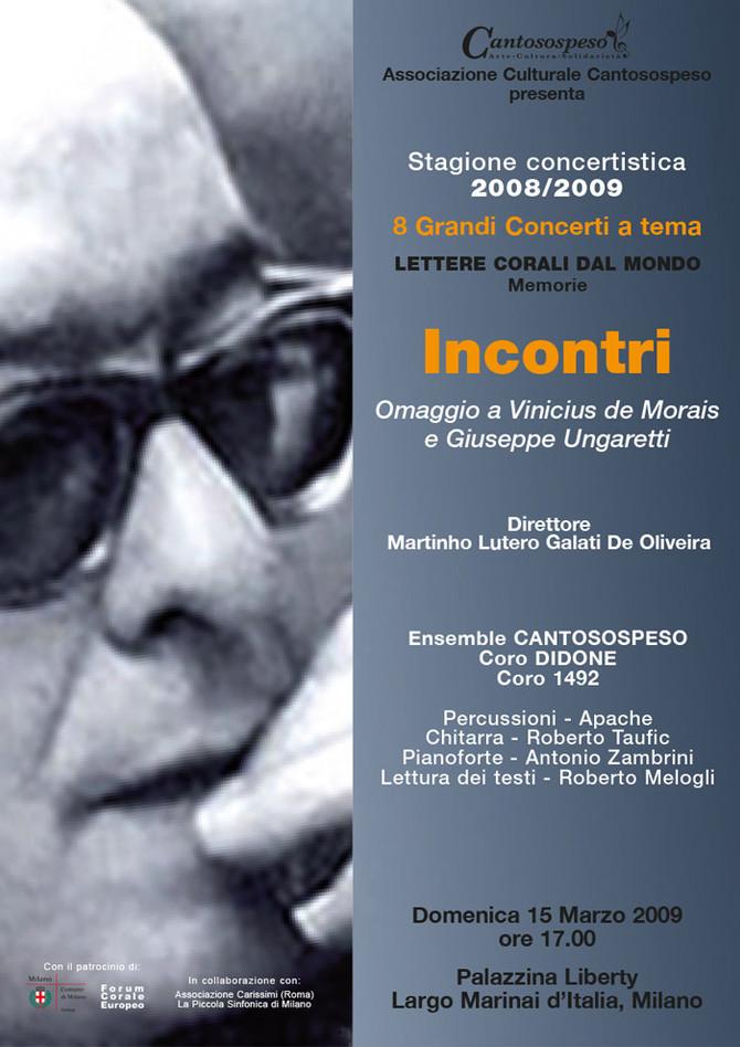 INCONTRI (omaggio a Vinicius de Morais e Ungaretti)