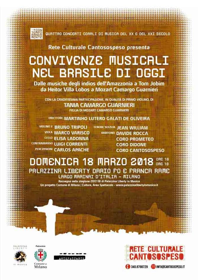 CONVIVENZE MUSICALI NEL BRASILE DI OGGI