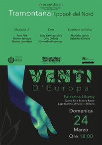 VENTI D'EUROPA: TRAMONTANA