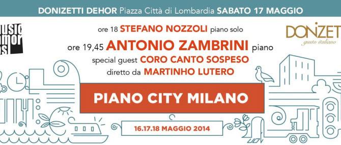 CANTOSOSPESO A PIANO CITY 2014