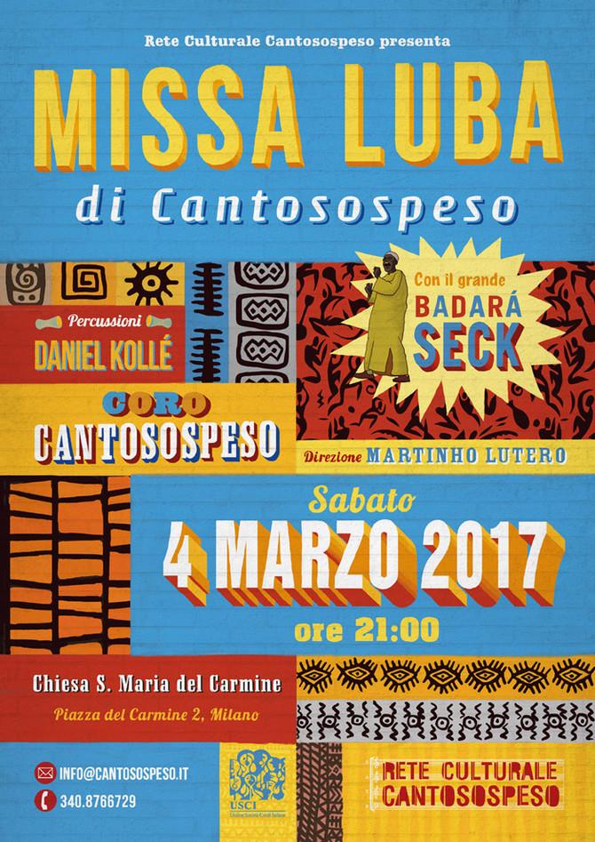 TORNA A MILANO LA MISSA LUBA DI CANTOSOSPESO!