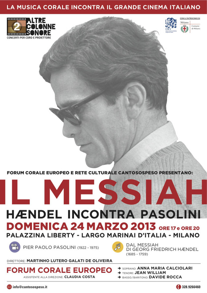 IL MESSIAH: HÆNDEL INCONTRA PASOLINI