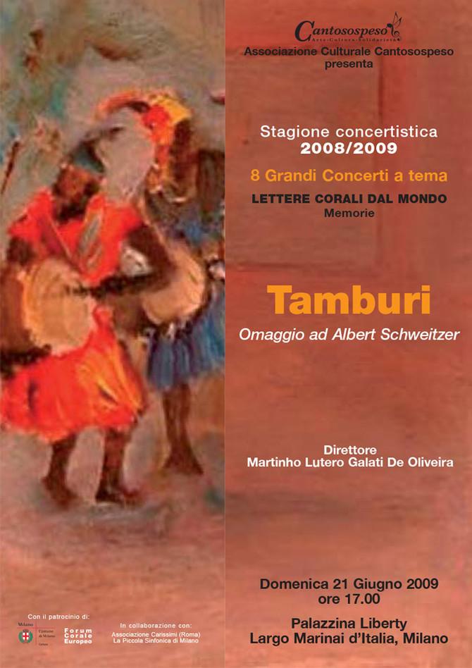 TAMBURI (omaggio a Albert Schweitzer)