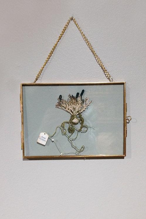 """Objets d'Art // Herbier Textile """"Dame des flots"""""""