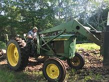 Fletch on tractor.JPG