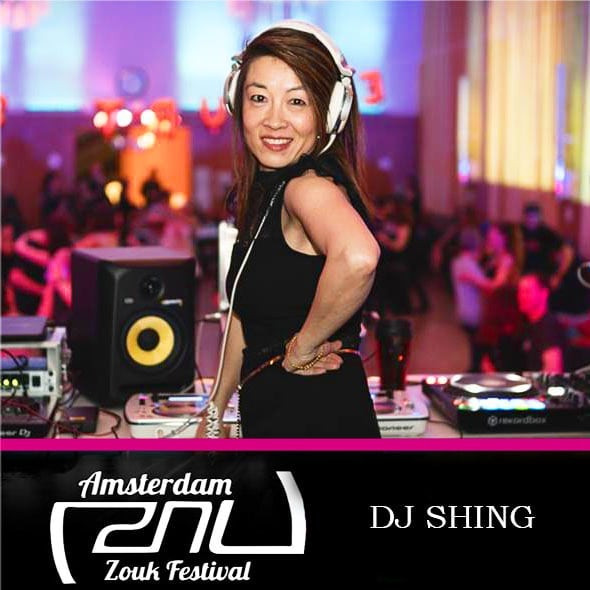 You all know and LOVE  her, DJ SHING 🎧✨