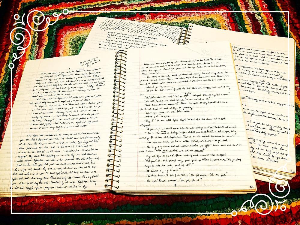 One of my Handwritten Manuscripts