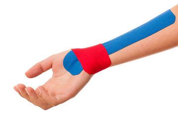 Kinesio taping in hand therapy