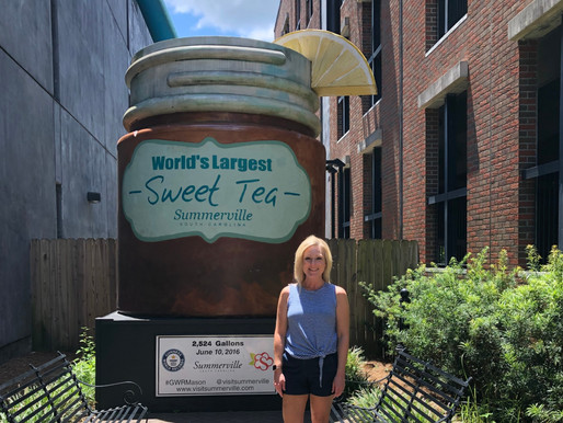 The Birthplace of Sweet Tea..