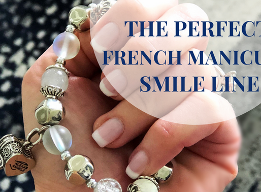 The Perfect French Manicure Smile Line