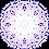 "Thumbnail: Holographic Magic Circle Sticker 2""x2"" - Dream"